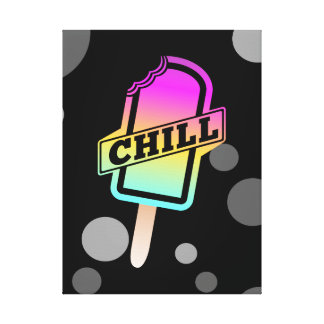 Chill Ice Pop Canvas Print