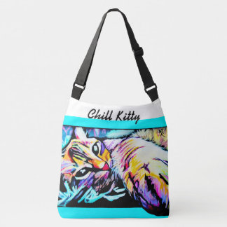 Chill Kitty Cross Body Bag