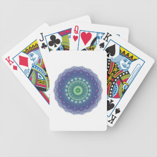 Chill Mandala Design Bicycle Playing Cards