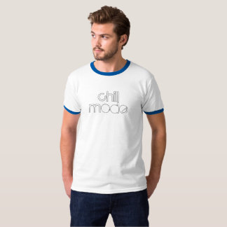 Chill Mode Distressed Type T-Shirt