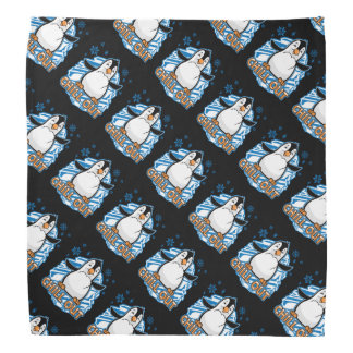 Chill Out Penguin Bandana