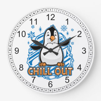 Chill Out Penguin Clocks
