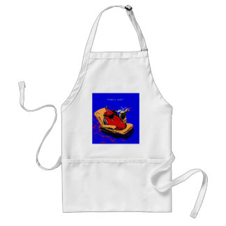 """""""chill out"""" standard apron"""