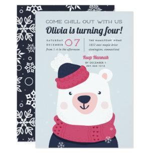 winter wonderland themed invitations announcements. Black Bedroom Furniture Sets. Home Design Ideas