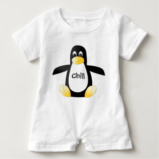 Chill Penguin Baby Bodysuit