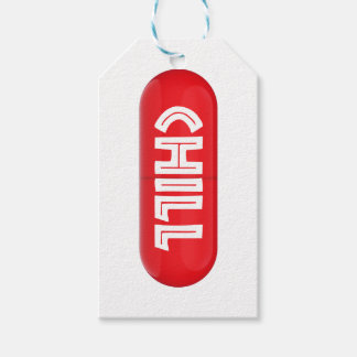 Chill Pill Gift Tags