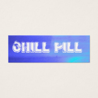 Chill Pill Mini Business Card