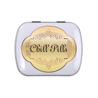 Chill Pills - Jelly Beans - SRF Jelly Belly Candy Tins