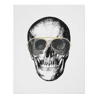 Chill Skull Vintage Sunglasses