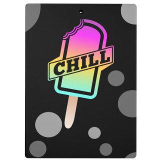 Chill summer design clipboard