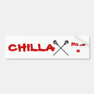Chillax Bumper Sticker