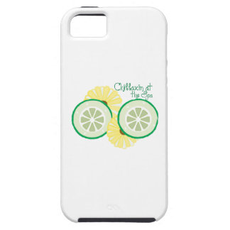 Chillaxin at the Spa iPhone 5 Cases