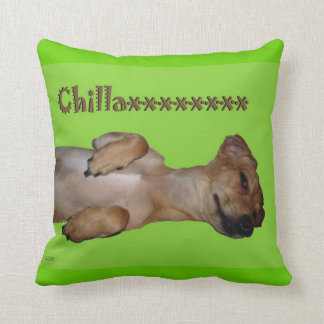 Chillaxin Chiweenie Lumbar Throw Pillow