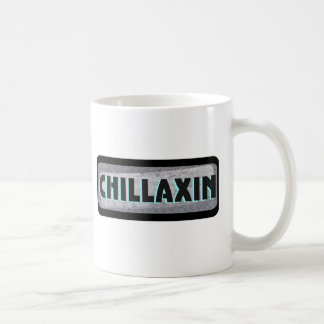 Chillaxin On Metal Coffee Mug