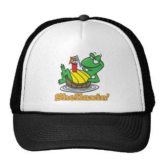 chillaxin shellaxin chill relaxing cute turtle cap