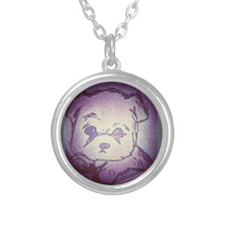 Chilled Pup Silver Plated Necklace