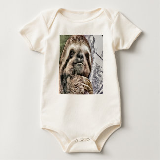 Chilled Sloth Baby Bodysuit