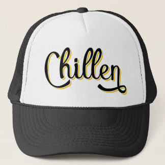 Chillen German Deutschland Slang Trucker Hat