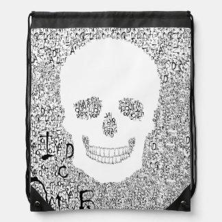 Chiller Font Skull Backpack