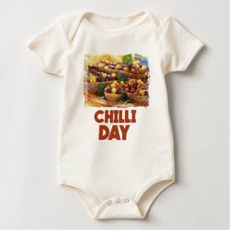 Chilli Day - Appreciation Day Baby Bodysuit