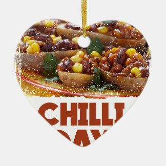 Chilli Day - Appreciation Day Ceramic Ornament