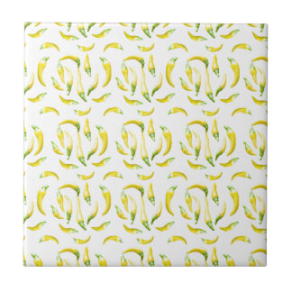 Chilli Pepers Pattern Motif Tile