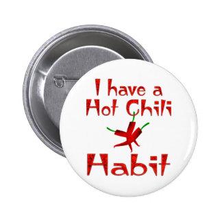 Chilli Pepper 6 Cm Round Badge