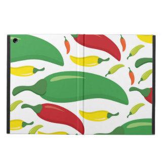 Chilli pepper pattern iPad air case