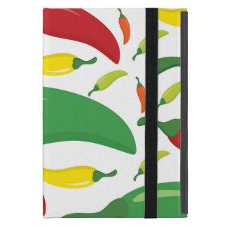 Chilli pepper pattern iPad mini cover