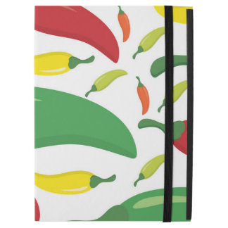 "Chilli pepper pattern iPad pro 12.9"" case"
