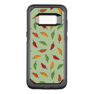 Chilli pepper pattern OtterBox commuter samsung galaxy s8 case