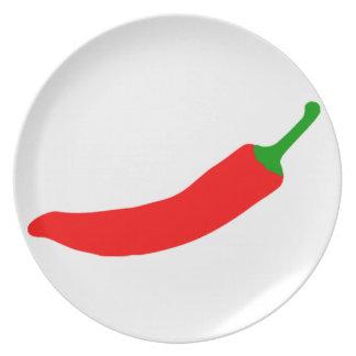 Chilli Pepper Plate