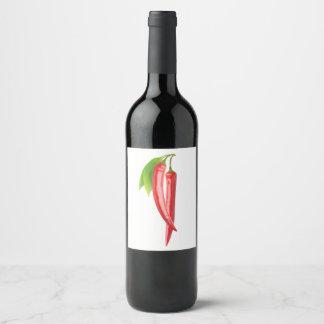Chillies Wine Label