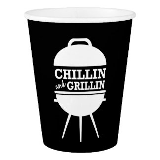 Chillin and Grillin BBQ Cups