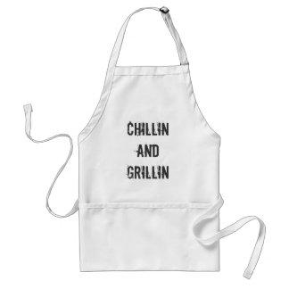 Chillin and Grillin Standard Apron