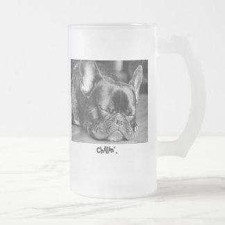 Chillin' French Bulldog Mug