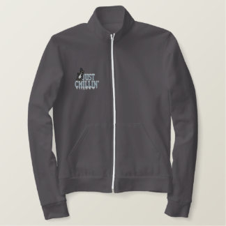 Chillin Penguin Embroidered Jacket