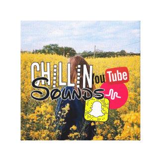 Chillin Sounds Canvas