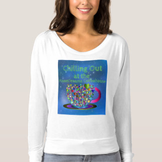 Chilling Out at the MoonDreams Coffeehouse T-Shirt