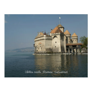 Chillon castle, Montreux, Switzerland Postcard