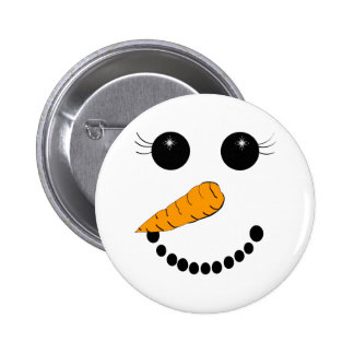 Chilly Face 6 Cm Round Badge