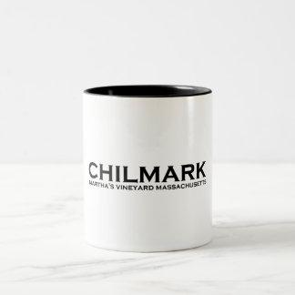 "Chilmark ""Lighthouse"" Design. Two-Tone Coffee Mug"