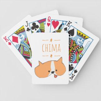CHIMA (CARTOON) BICYCLE PLAYING CARDS
