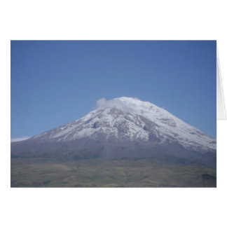 Chimborazo, Ecuador Card