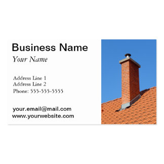 chimney pack of standard business cards