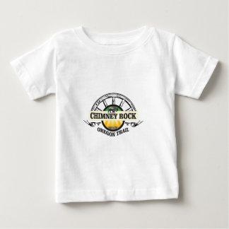 chimney rock yellow art baby T-Shirt