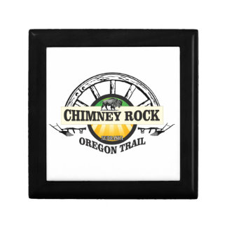 chimney rock yellow art gift box