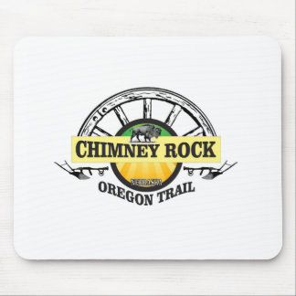 chimney rock yellow art mouse pad