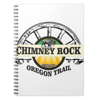 chimney rock yellow art notebooks