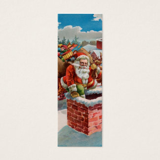 Chimney Santa LOVE Note - Naughty or Nice? Mini Business Card